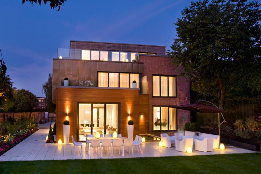Grange view view road highgate london n6 adelto adelto Luxury house plans designs uk