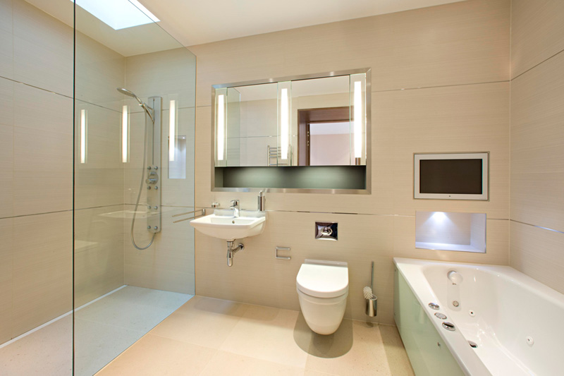 Grange view view road highgate london n6 adelto adelto Luxury bathroom design oxford