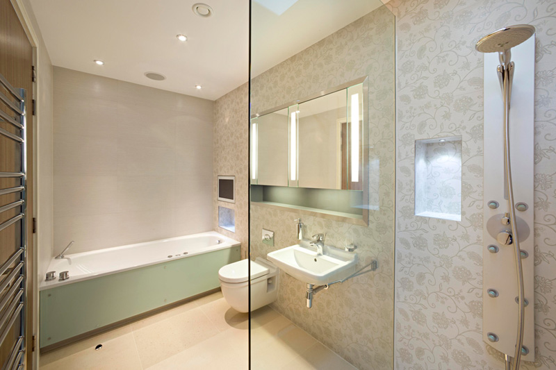 Grange view view road highgate london n6 adelto adelto Bathroom designs for small flats in india
