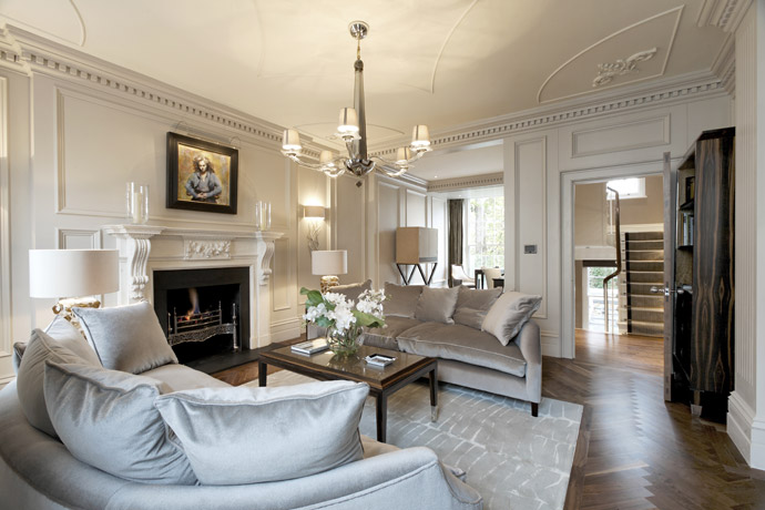 Belgravia property by rigby rigby adelto adelto for Home furniture london