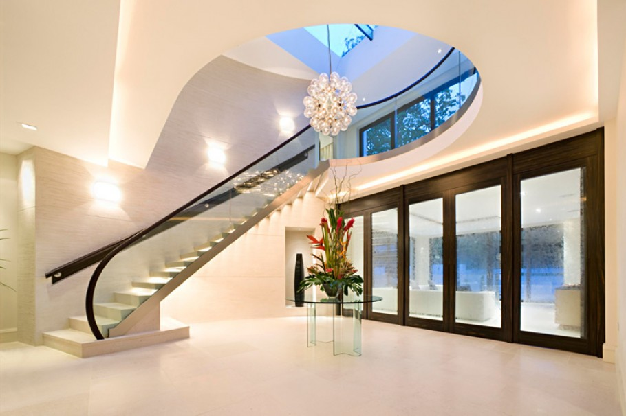 Modern Mansion Property Home London Uk England Million Pound Interior