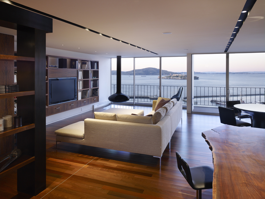 The Luxury Ludwig Penthouse In San Francisco California