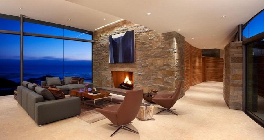 The contemporary otter cove residence in carmel california adelto adelto Real estate and interior design