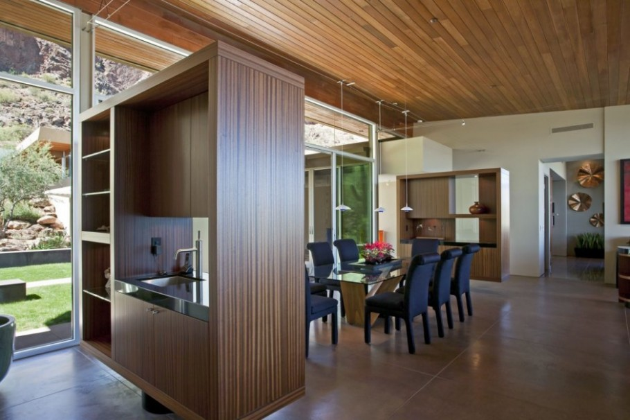 Luxury arizona property by kendle design collaborative - Residence monks shadow kendle design collaborative ...