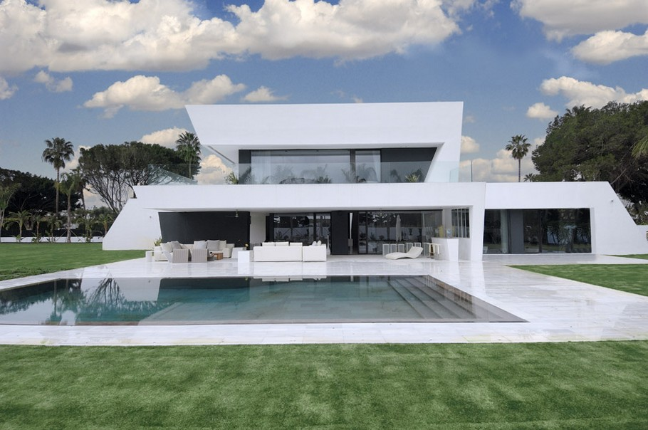 Luxury Property in Spain By A-cero Architects