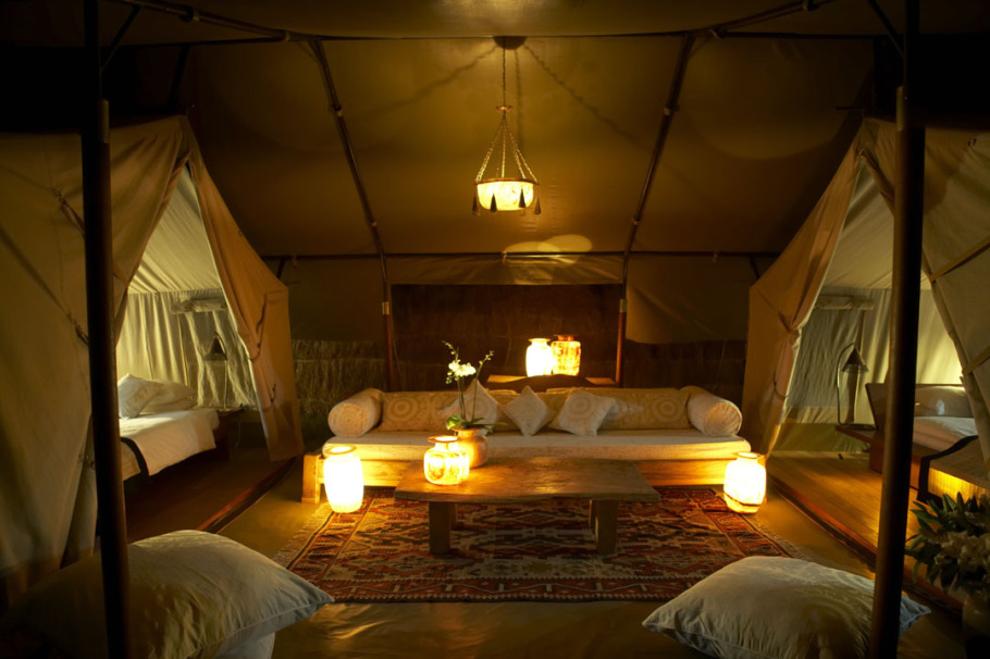 About Richard Barker & Stay in a lavisih tent at the Naibor Private Retreat in Kenya ...