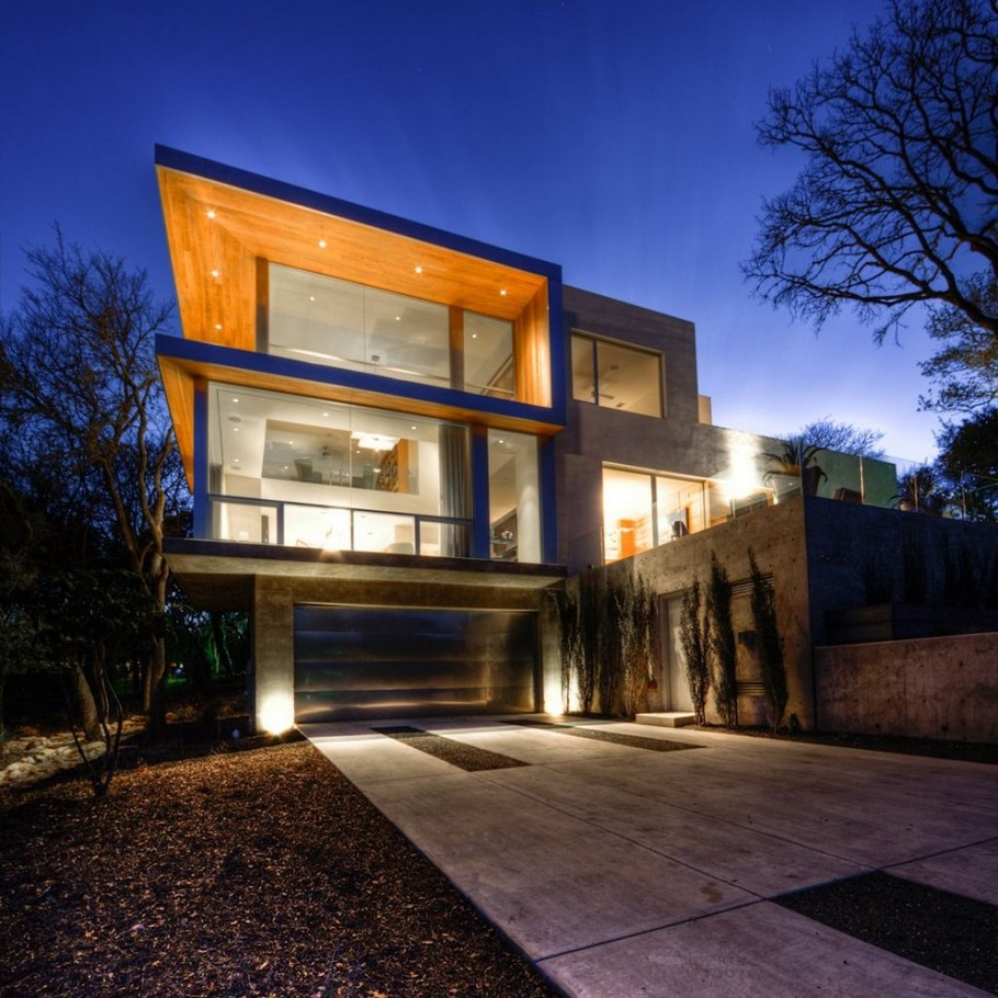 City view residence by dick clark architecture adelto adelto - Maison contemporaine dick clark architecture ...