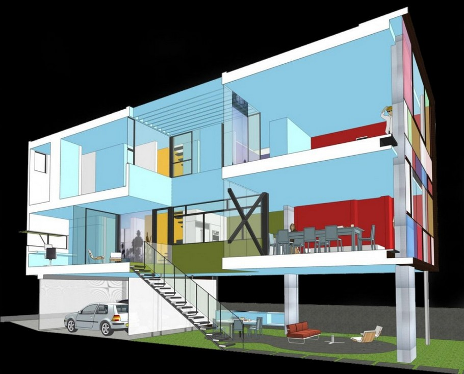 Contemporary Hover House 3 By Glen Irani Architects