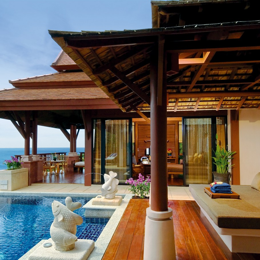The luxury pimalai resort and spa koh lanta thailand for Resort hotel design