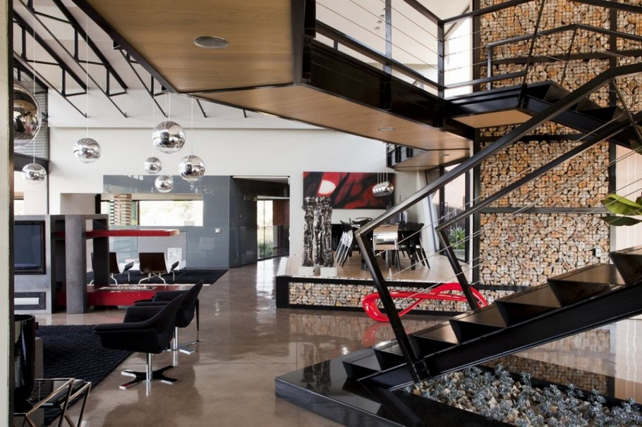 Contemporary  Home Pretoria, South Africa (4)