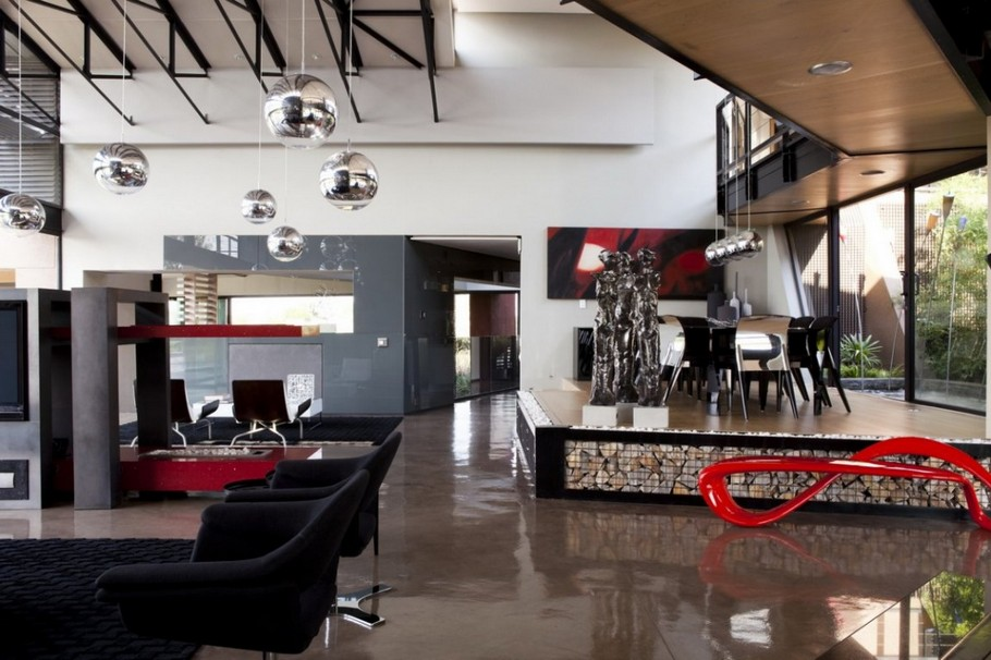 Contemporary  Home Pretoria, South Africa (5)