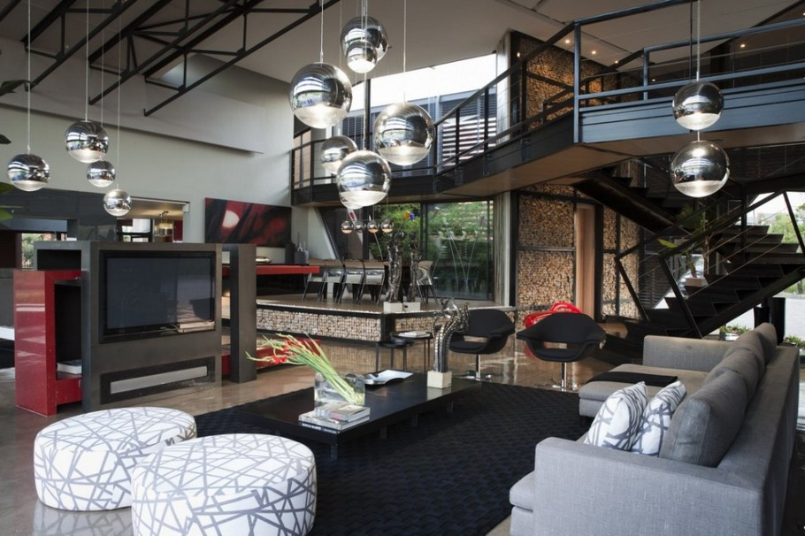 Contemporary  Home Pretoria, South Africa (6)