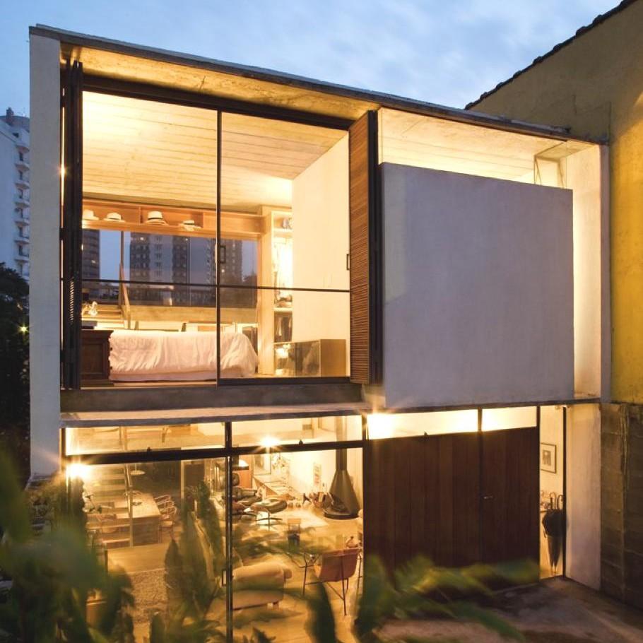 Contemporary home Sao Paulo 1