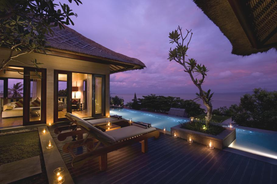 The luxury conrad resort on a pristine beach bali for Luxury accommodation bali