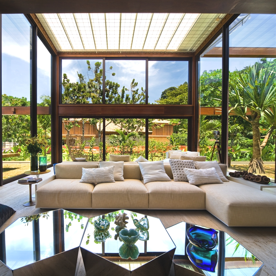 The luxury Laranjeiras Residence, Brazil 12