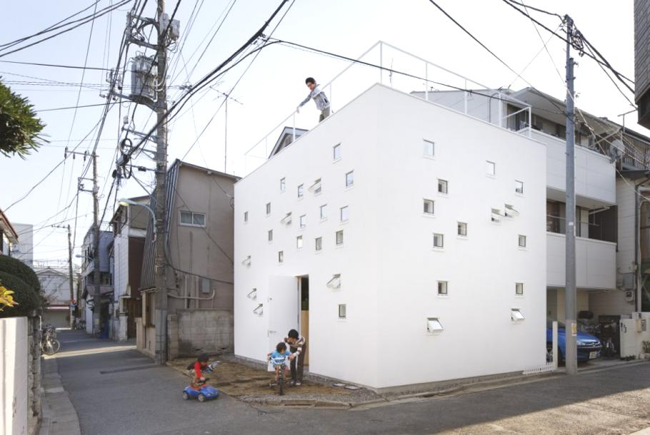 Contemporary-RoomRoom-House-Tokyo-Japan 2