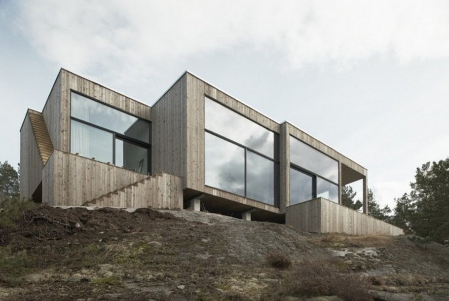 1 House on a Cliff by Petra Gipp Arkitektur and Katarina Lundeberg
