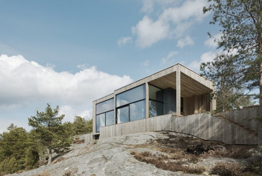 2 House on a Cliff by Petra Gipp Arkitektur and Katarina Lundeberg