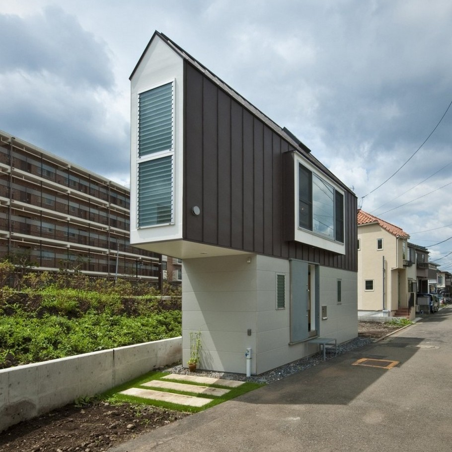 3 River Side House in Horinouchi by Mizuishi Architect Atelier