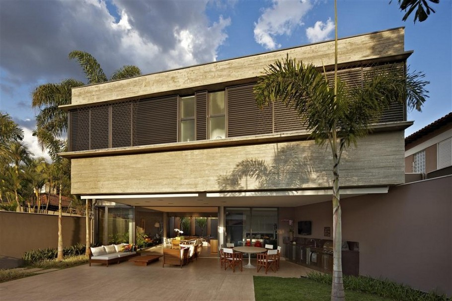 5 Residence in Belo Horizonte by Anastasia Architects