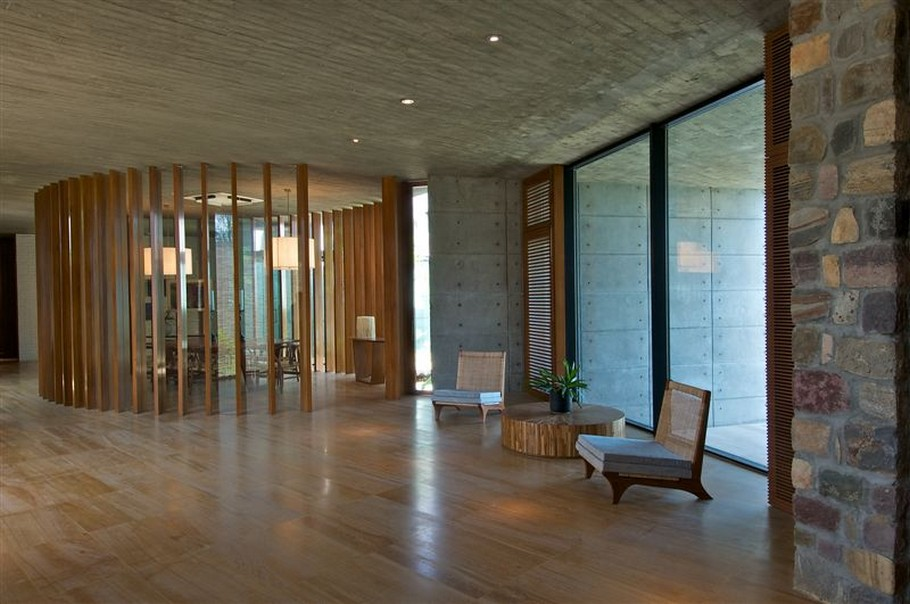 9 Luxury House by the Ganges River by Rajiv Saini & Associates