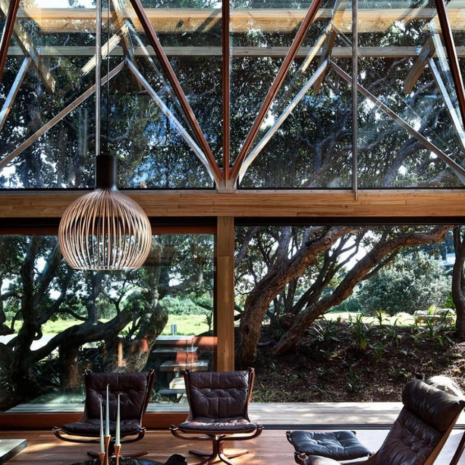 9 Under Pohutukawa Beach House by Herbst Architects