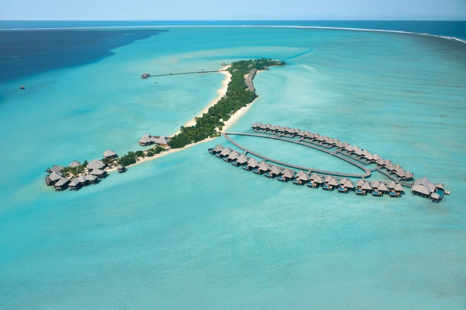1 5-Star Taj Exotica Resort and Spa Maldives