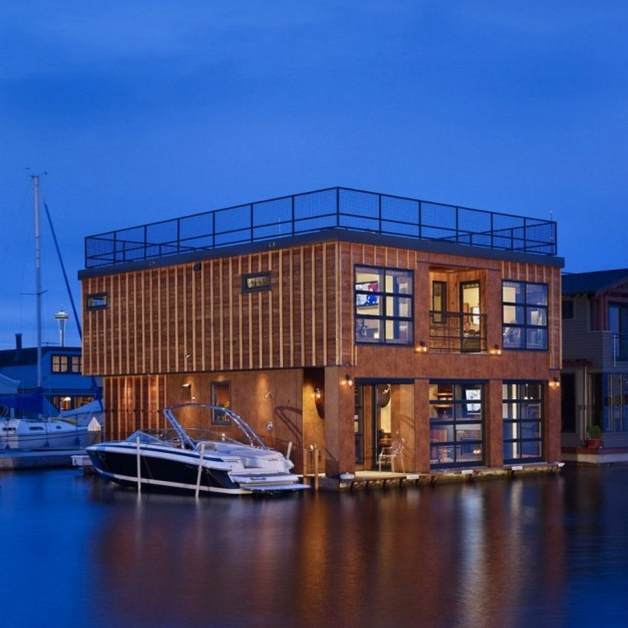 1 Lake Union Float Home by Designs Northwest Architects