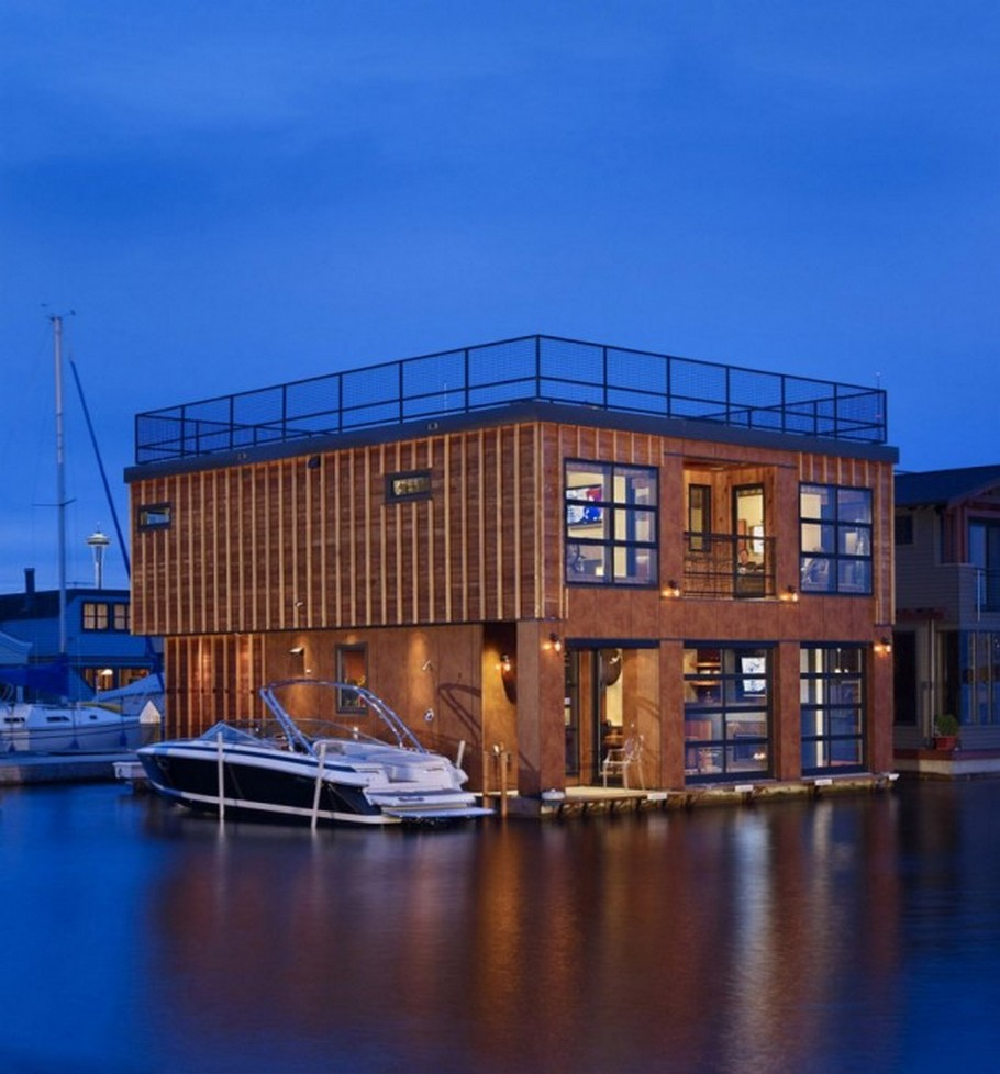 Remarkable Modern Floating Home By Designs Northwest