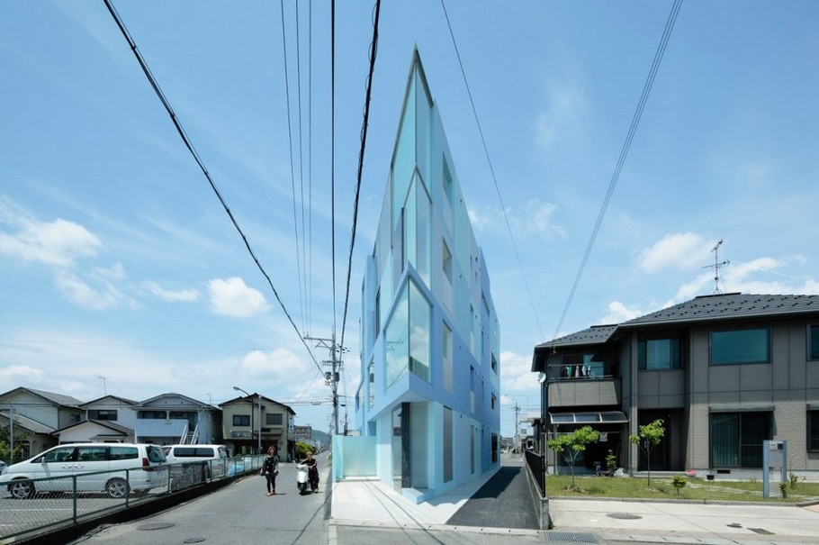3 Modern 'On the Corner' Building by EASTERN Design Office
