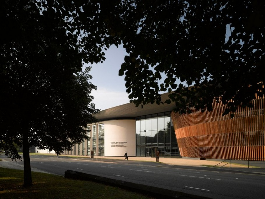 3 Royal Welsh College of Music and Drama by BFLS
