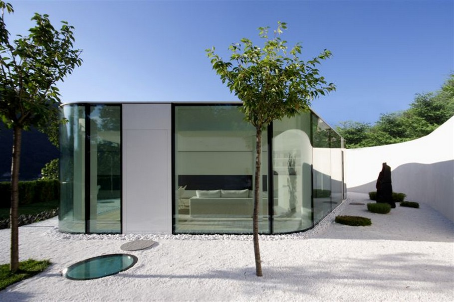 4 Lake Lugano House by JM Architecture