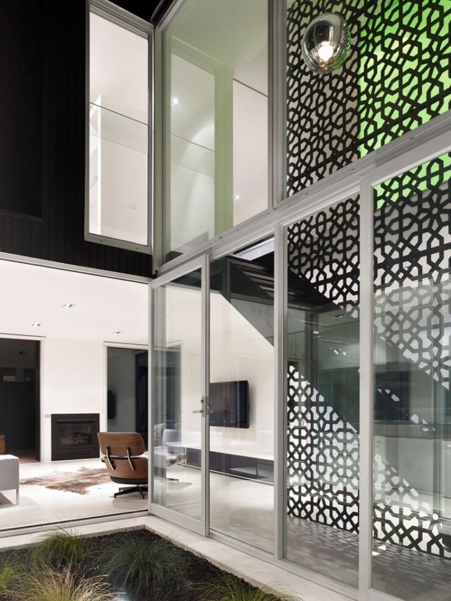 Interior Architectural Screen : The lily street house by odr architects and life space