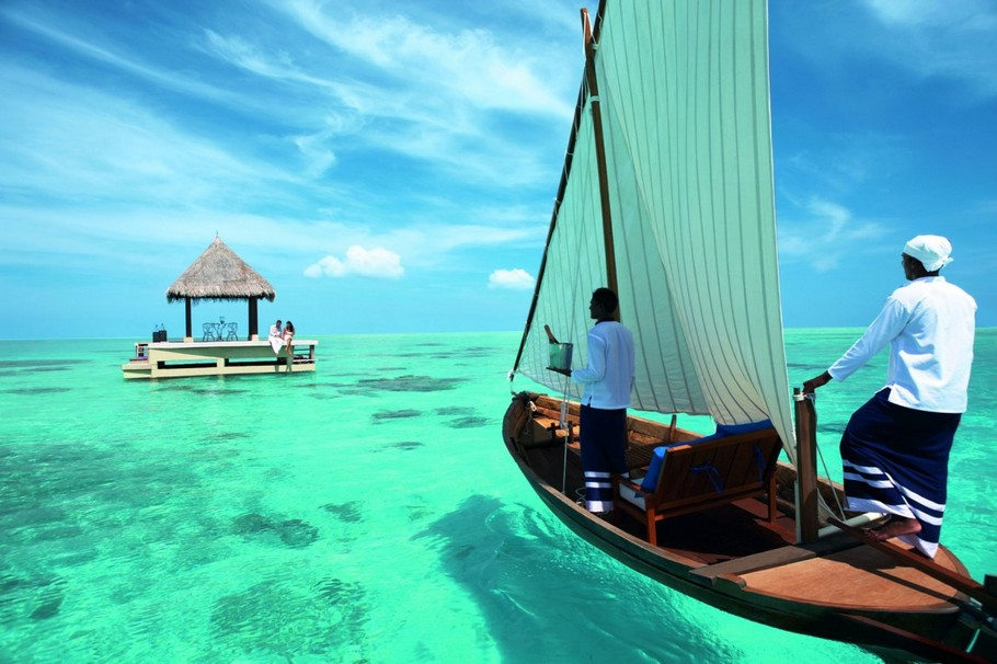 7 5-Star Taj Exotica Resort and Spa Maldives
