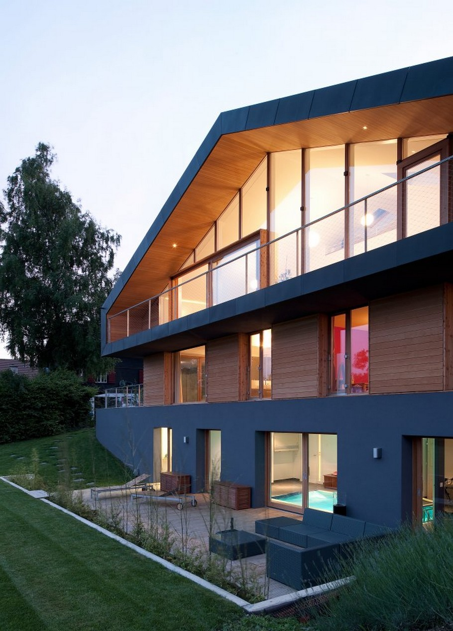 Beautiful Swiss Home By LRS Architects  Adelto Adelto - Swiss home design