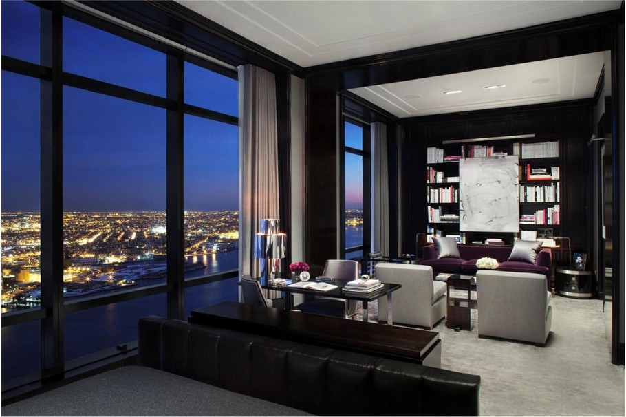 picture perfect luxurious modern penthouse in the trump