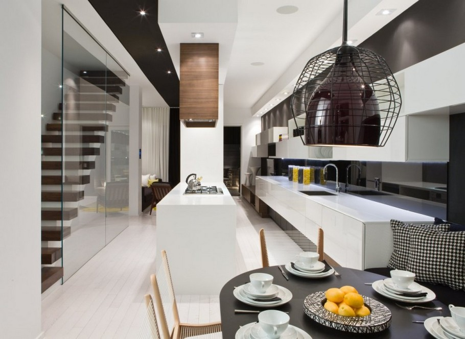 Contemporary Townhouse  in Toronto, Canada (1)
