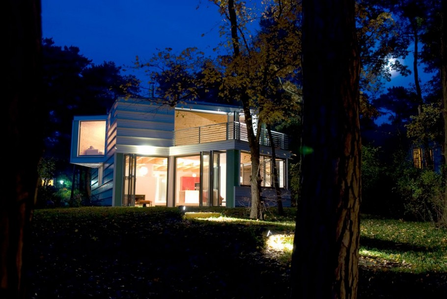 Lakeshore House in Germany by Archibald Buro (1)