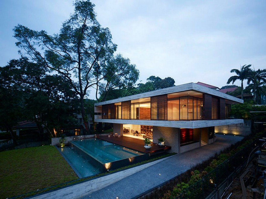 The Luxury JKC1 House in Singapore by Ong&Ong (1)