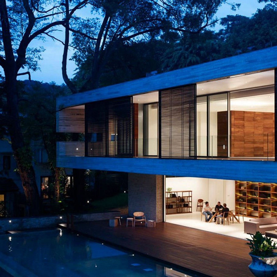 The Luxury JKC1 House in Singapore by Ong&Ong (2)