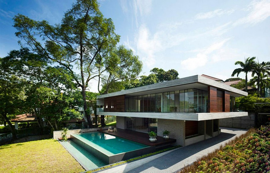 The Luxury JKC1 House in Singapore by Ong&Ong (22)