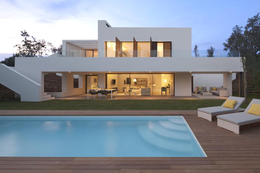 Luxury Villa By Damian amp Francisco Ribas Spain Adelto