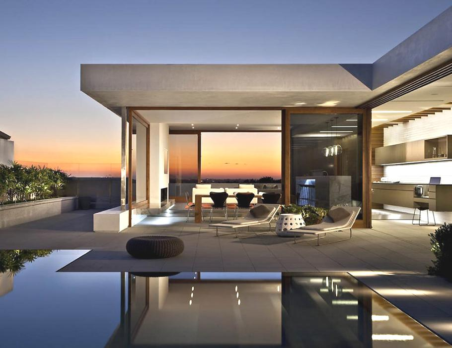 Contemporary harbourview hills home california adelto for Modern houses in california