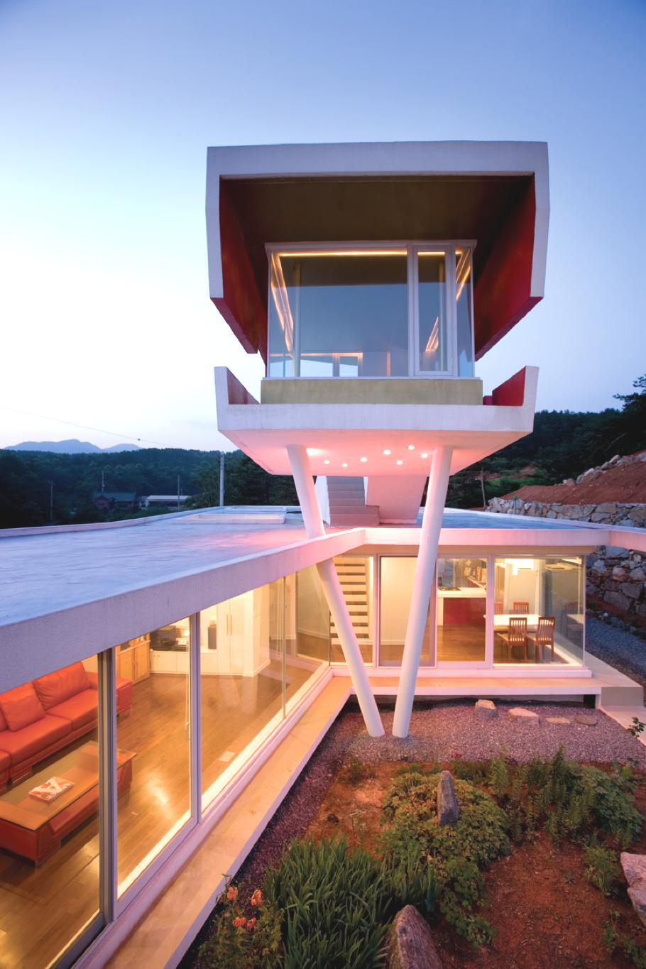 Contemporary s mahal house south korea adelto adelto for Modern house korea