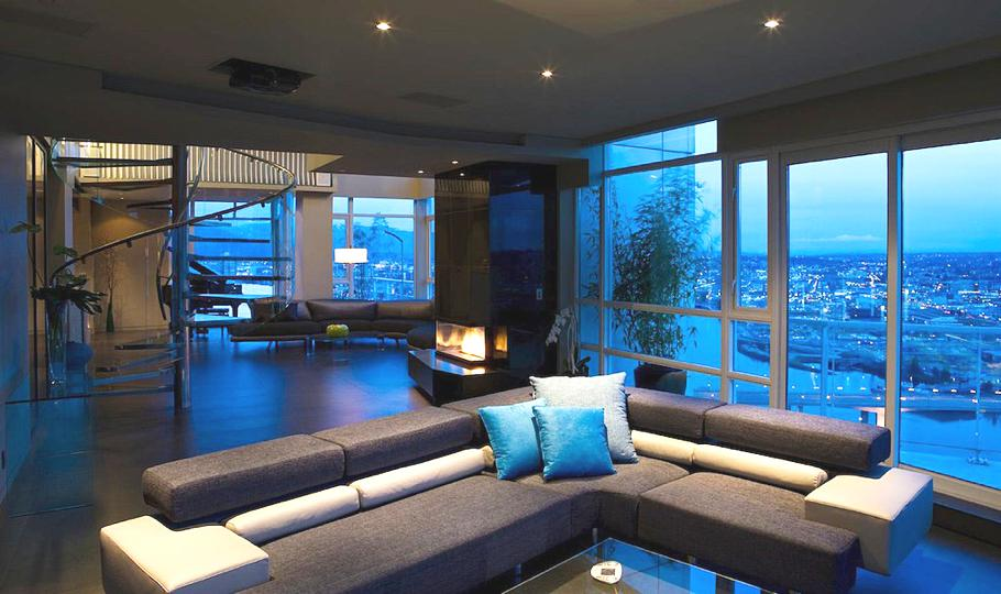 Luxury yaletown penthouse canada adelto adelto for Pool design vancouver