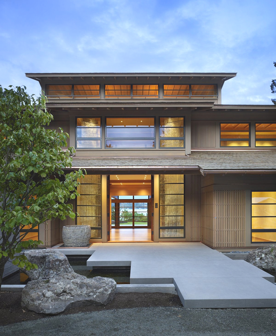 Contemporary Engawa House Seattle on Japanese Engawa House Lake