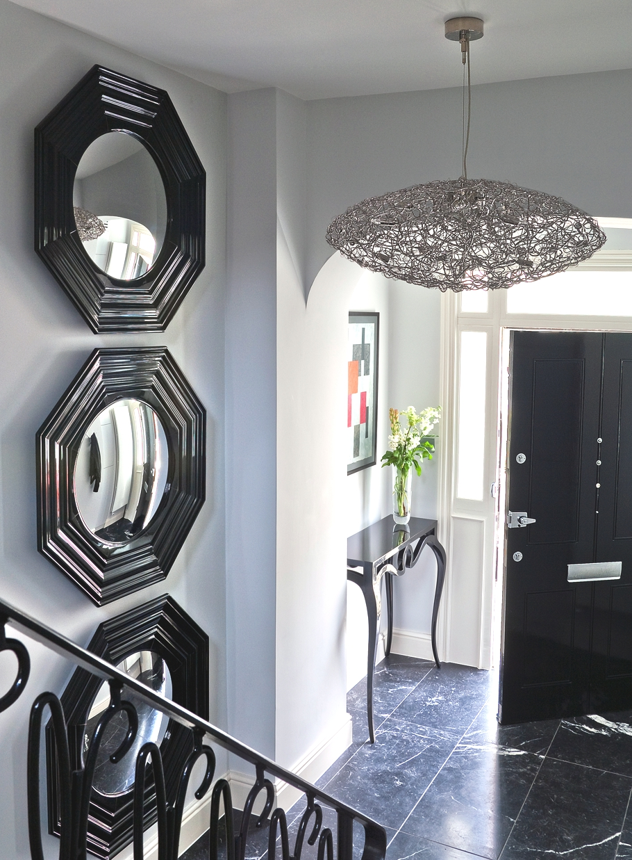 Contemporary hyde park townhouse london adelto adelto for Interior designs for townhouses