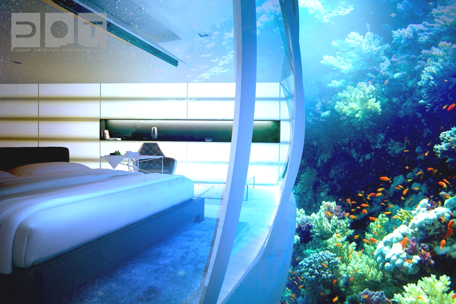 Luxury underwater water disc hotel dubai adelto adelto for 10 best hotels in dubai