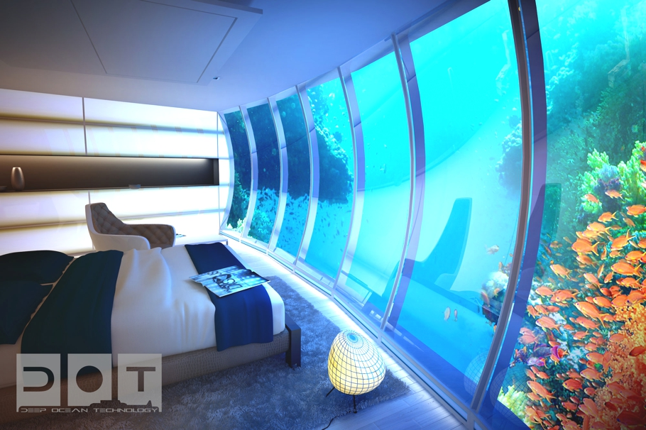 Luxury underwater water disc hotel dubai adelto adelto for Luxury hotels in dubai