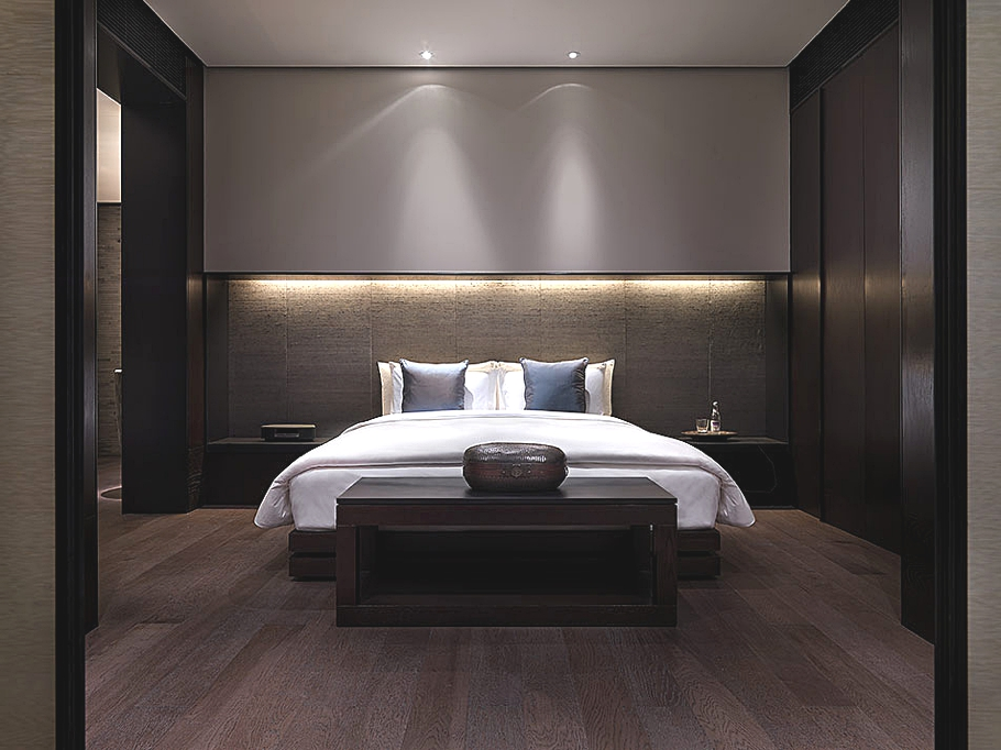 Luxurious puli hotel and spa shanghai adelto adelto for Hotel bedroom designs